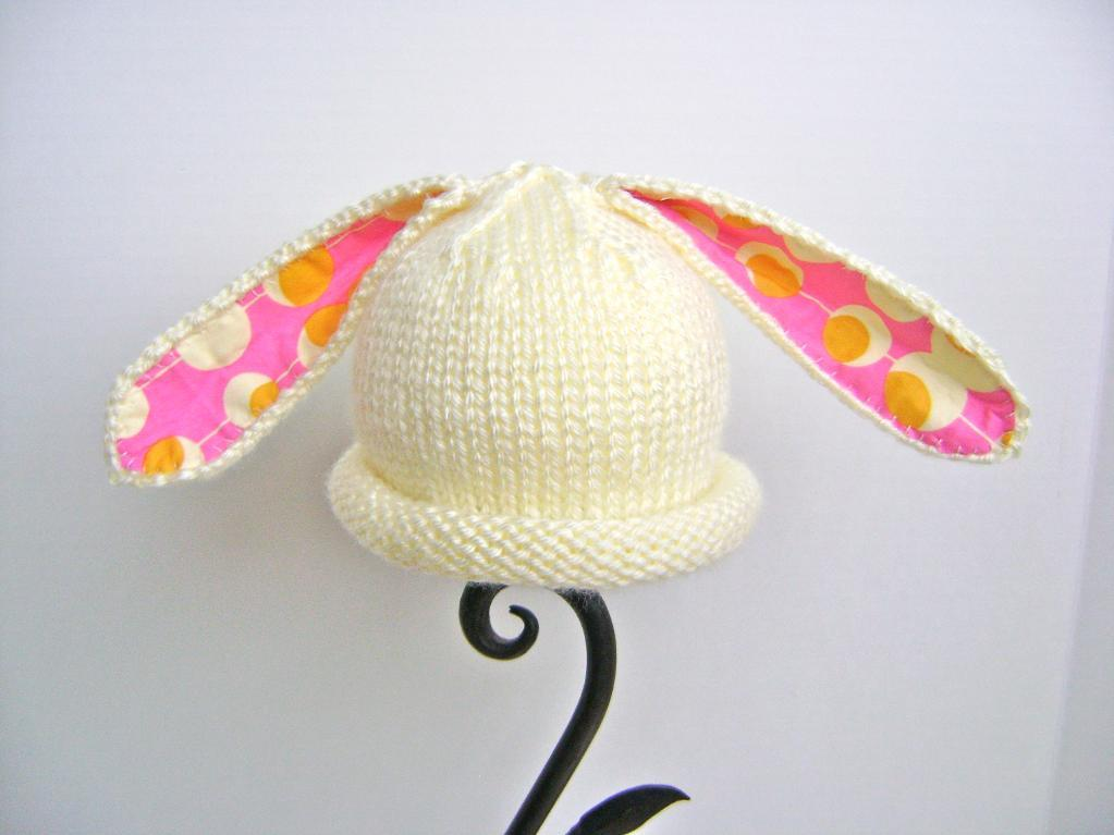Bonnie Bunny knitted hat