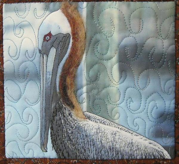 Painted Pelican Quilt - Bluprint Member Project