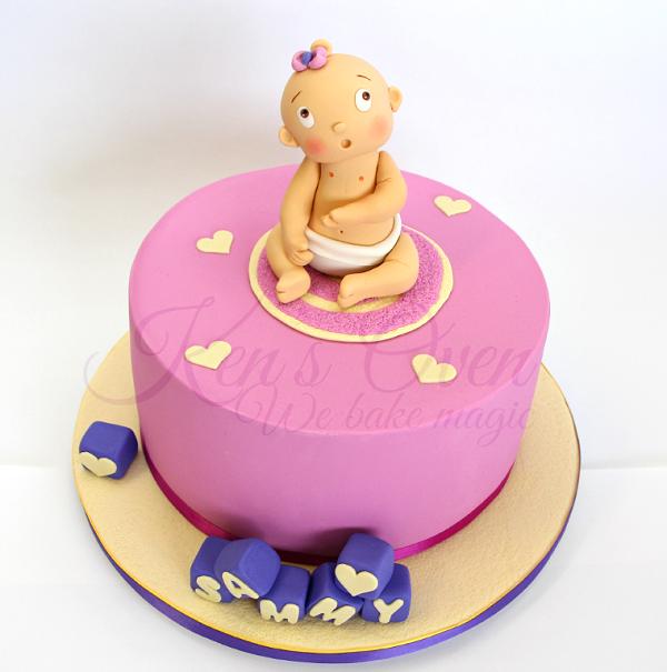 Baby Shower Cake on Bluprint.com