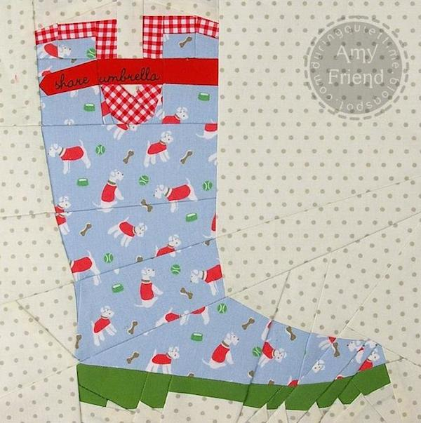 Gardening Boot - Paper-pieced Pattern