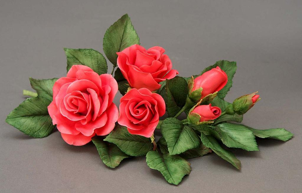Rose Sugar Flowers on Bluprint!