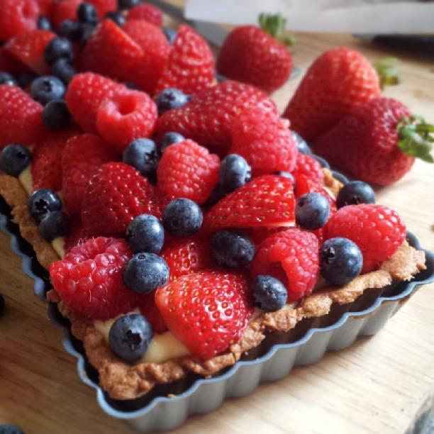 Homemade Berry Tart, Bluprint Member Project