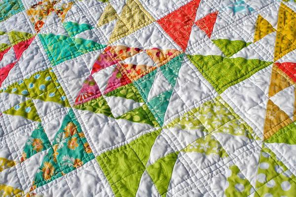 Kissing Fish Baby Quilt: Spring Quilts on Craftsy