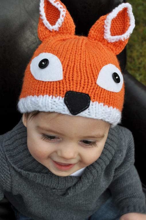 Foxy knit Kid's hat