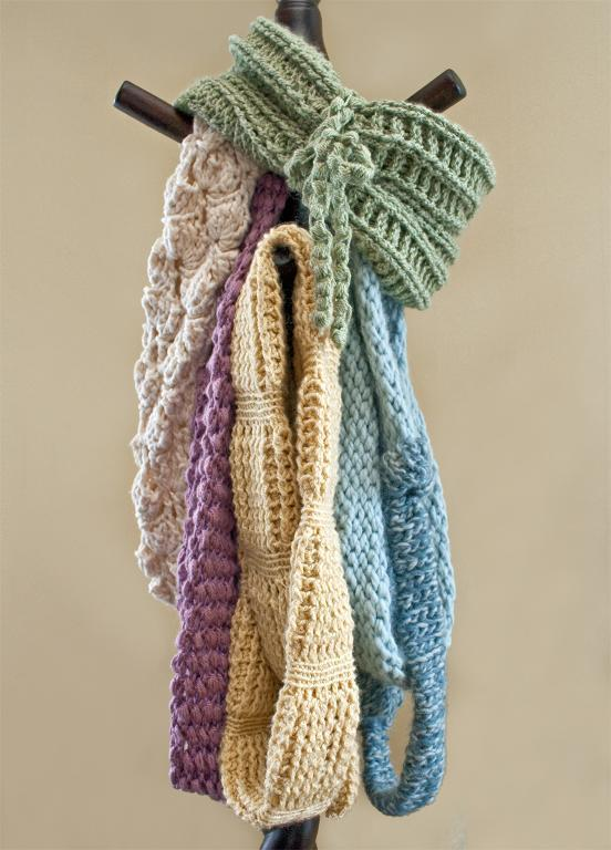 Craftsy.com: Infinity tube crochet scarf collection