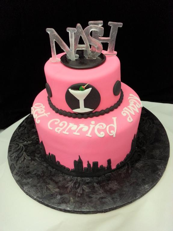Sex and the City Themed Cake