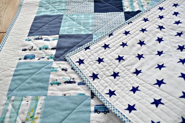 Baby Boy Quilt - Bluprint Member Project