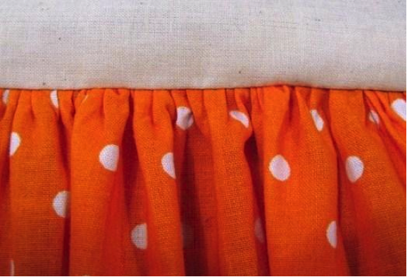 Gathered Seam on a Skirt