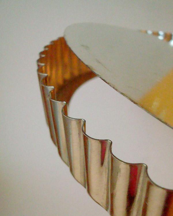 Closeup Shot of a Tart Pan