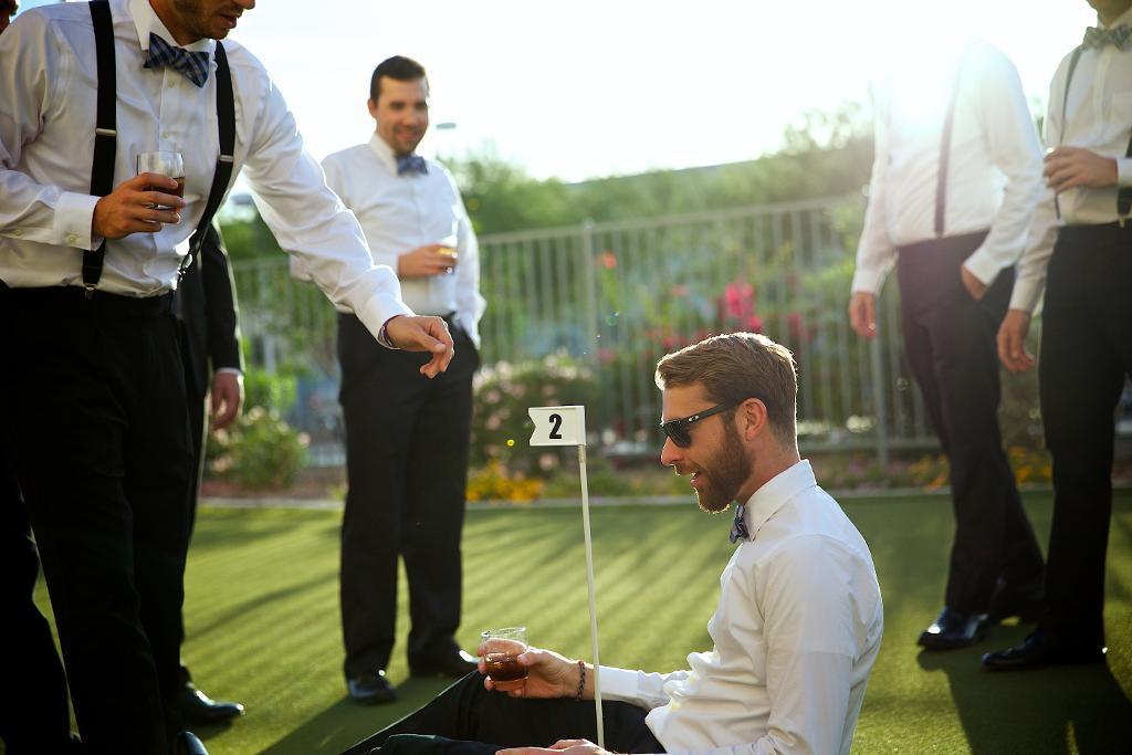 Groomsmen in Wedding Party