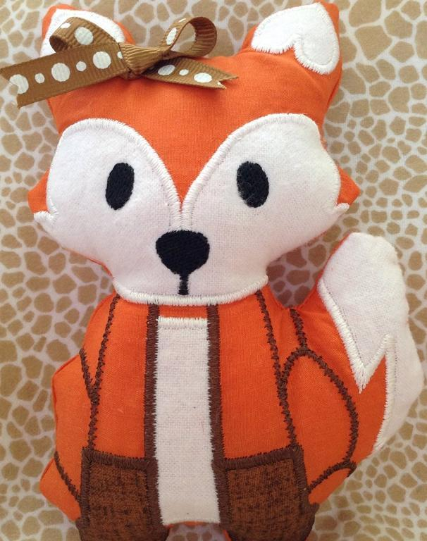 MissCrafty Fox by Craftsy In the Hoop gifts student chattypenny