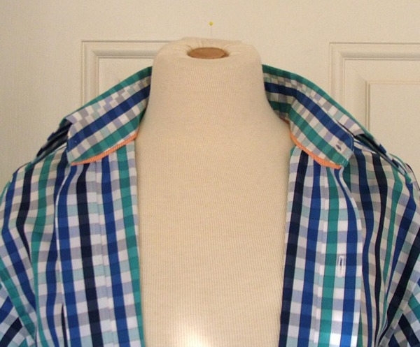 Interfaced Shirt Collar