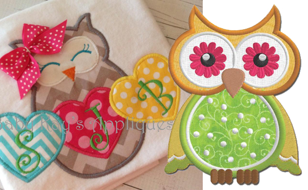 Bluprint Owl Applique Patterns