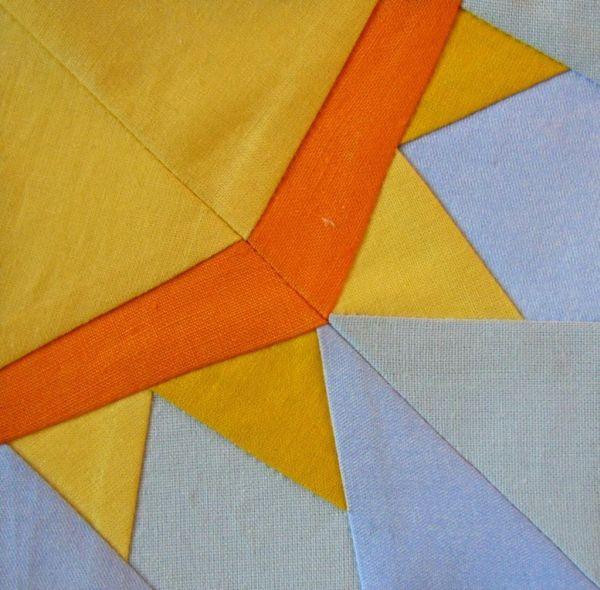 Free Paper Pieced Sun Block Pattern - on Bluprint.com
