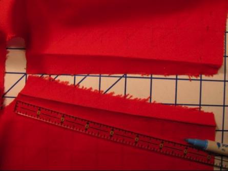 Fabric Seam Lines