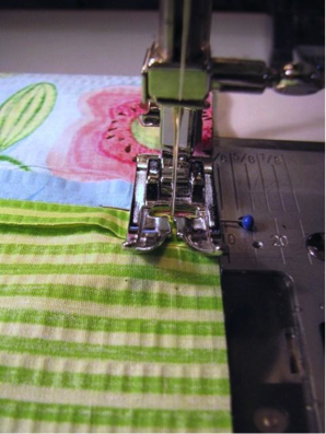 Sewing the Fabric