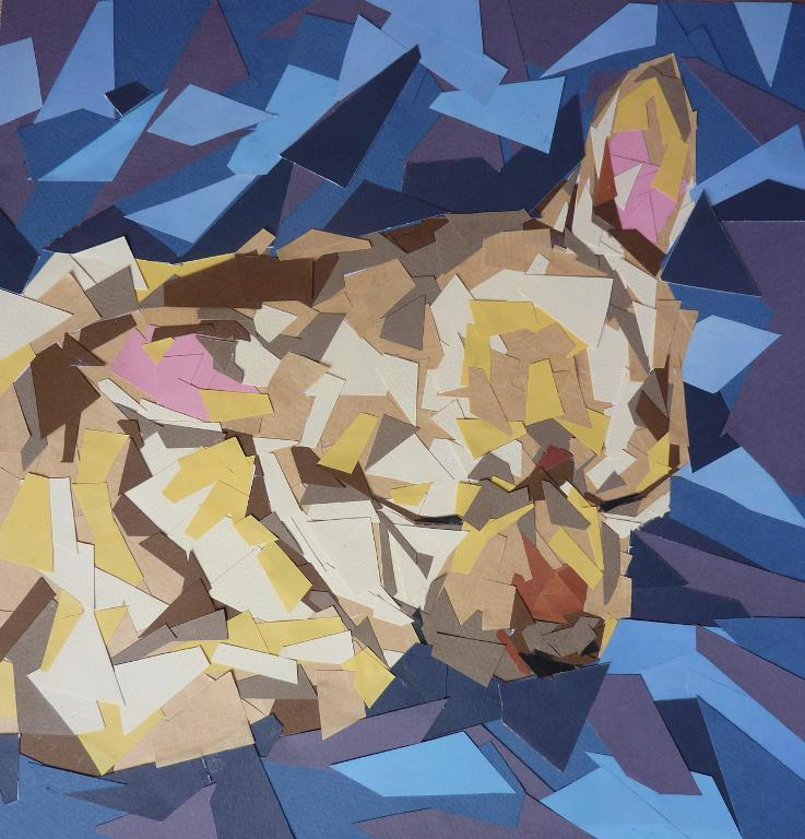 Painting of Small Dog - Bluprint Member Project