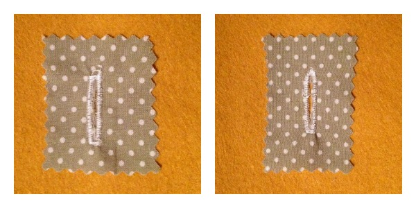 Square and Rounded Buttonholes