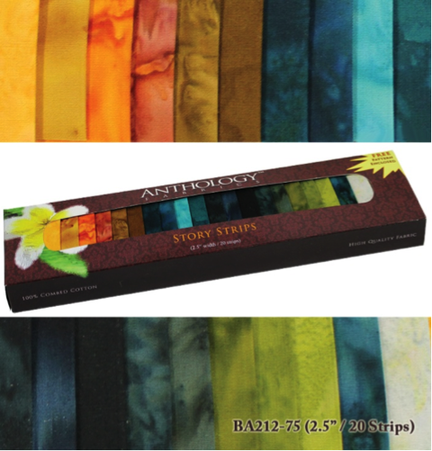 Anthology Fabric Strip Sets