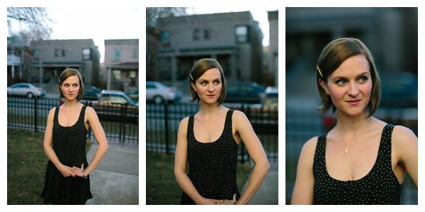 Portrait of Woman at 3 Different Focal Lengths