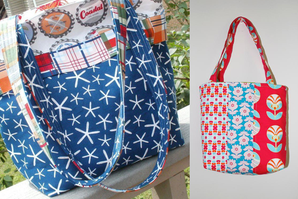 Tote Bags Made by Craftsy Members