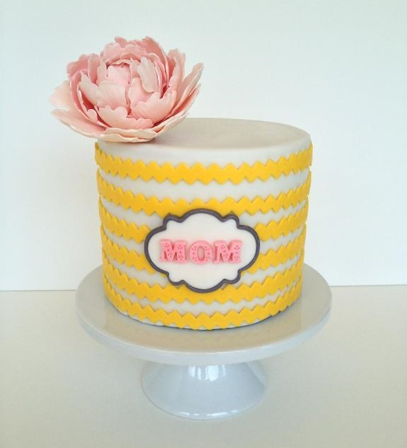 Modern Mother's Day Cake