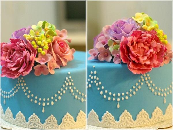 Full Bloom Mother's Day Cake
