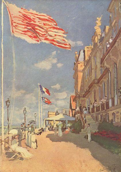 """Claude Monet's """"L'hôtel Les Roches Noires"""""""