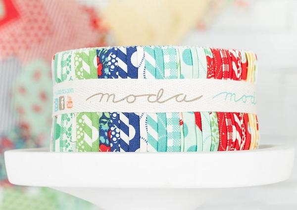 Moda April Showers Jelly Roll Fabric