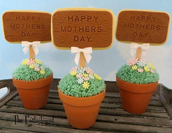 Mother's Day Cupcake Garden