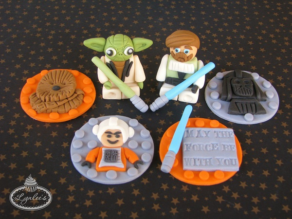 Star Wars Fondant Cupcake Toppers