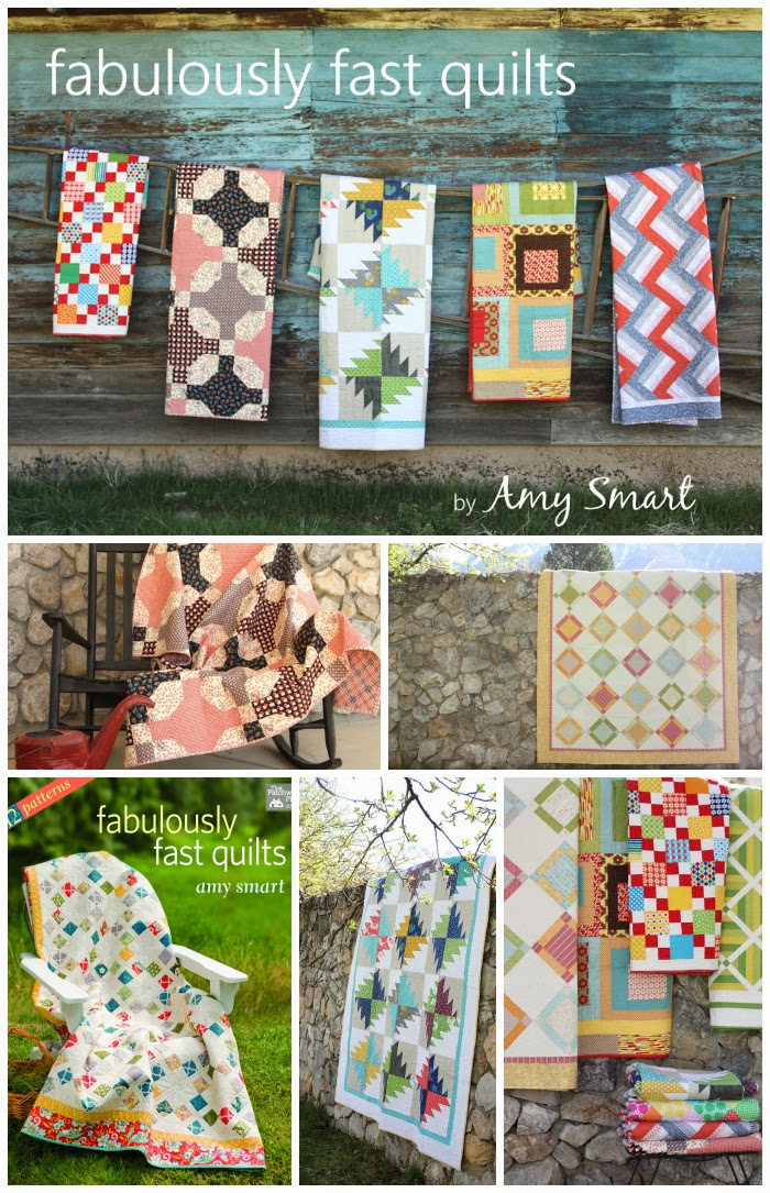 collection of fabulously fast quilts by Amy Smart