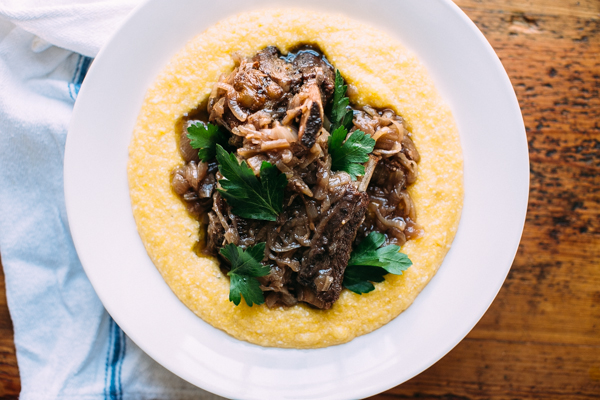 Serve Your Braised Short Ribs with Creamy Polenta