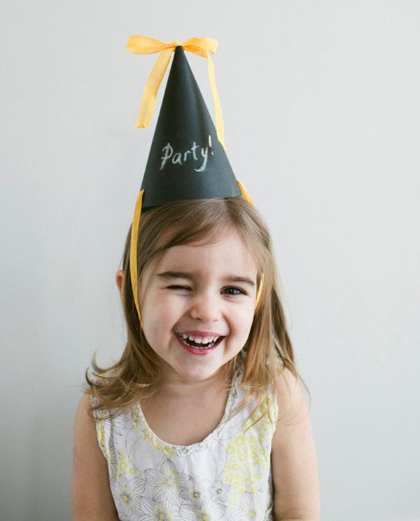 Chalk Party Hat