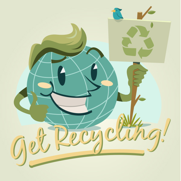 Get recycling with Earth Day