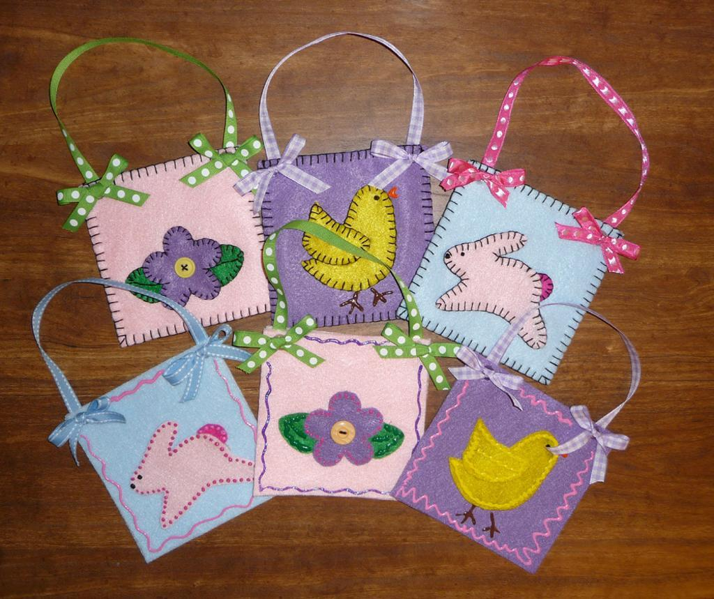 Handmade Easter Treat Bags