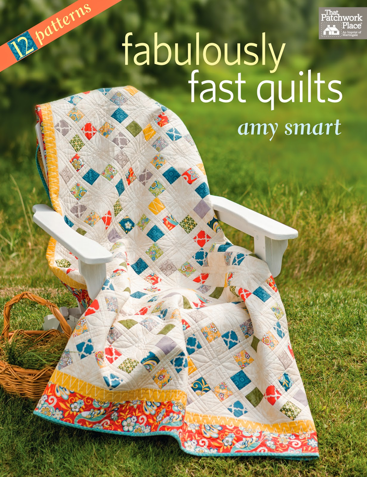 Fabulously Fast Quilts by Amy Smart book cover