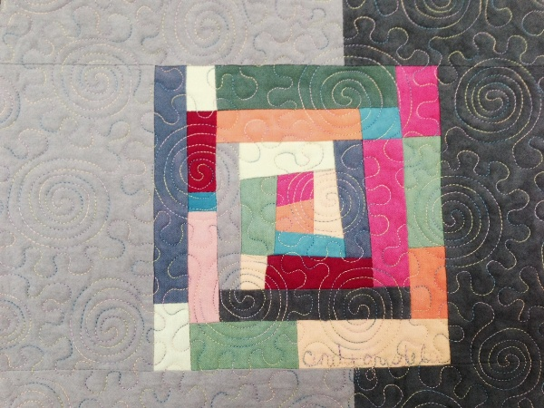 Spirals and Stipples Quilting