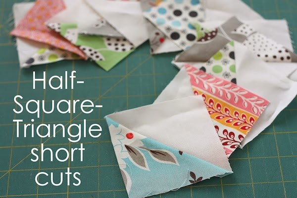 Half-square triangle short cuts