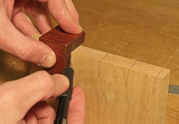 using the dovetail marker