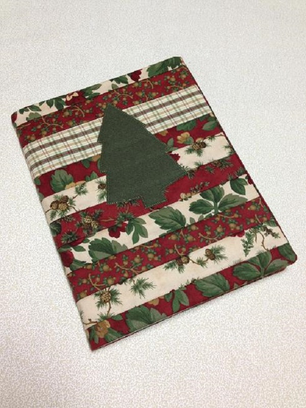 Christmas tree quilt journal