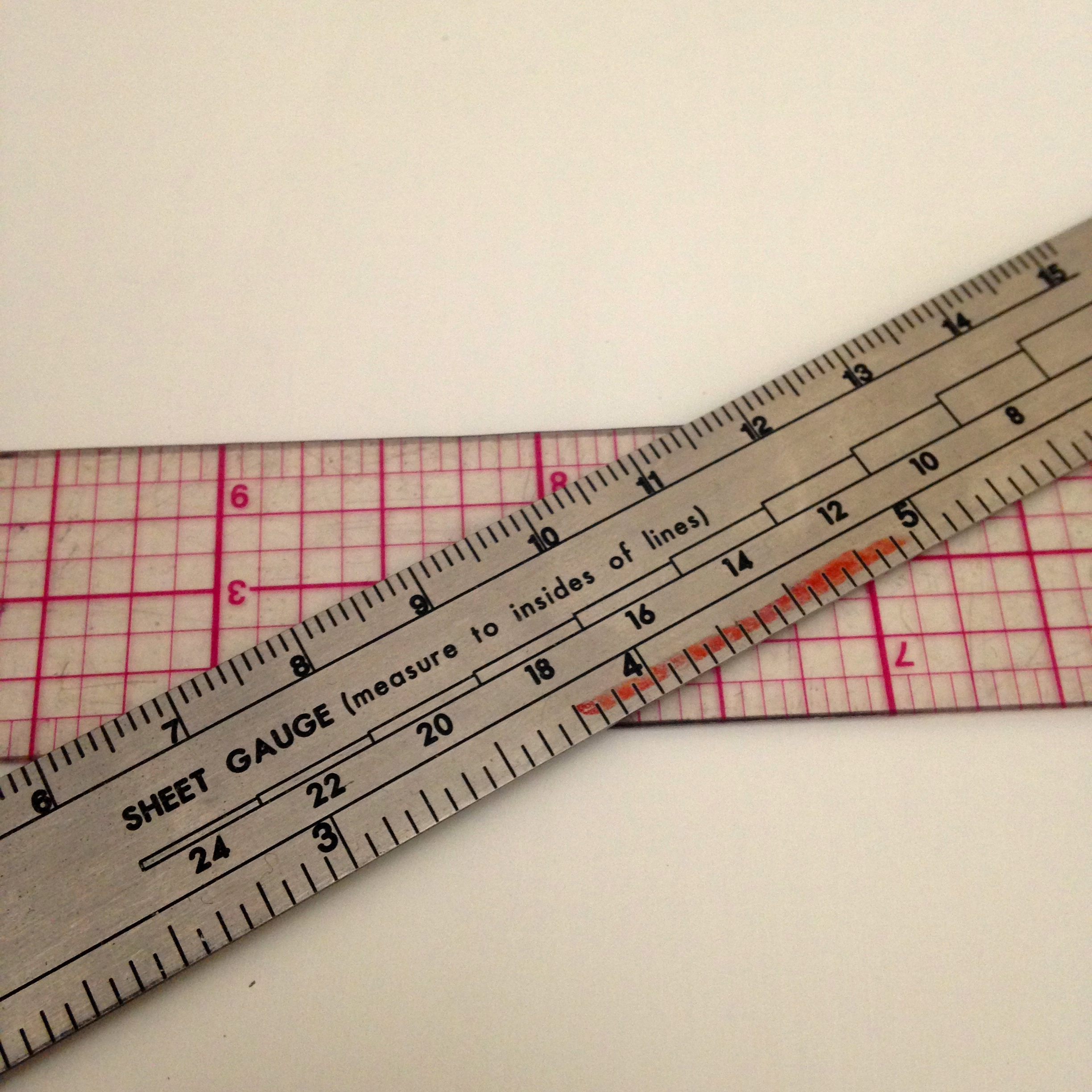 Two Rulers for Jewelry Making