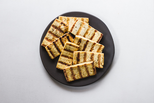 Plate of Grilled Tofu