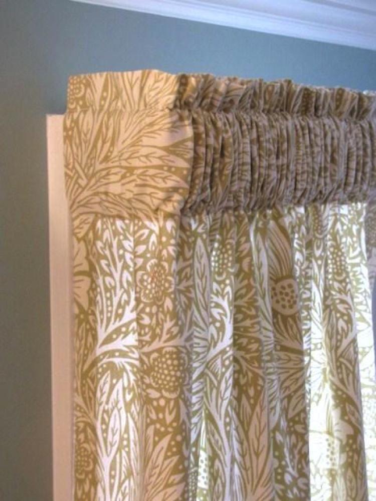 Gathered Curtains: Making Gathered Curtains on Bluprint