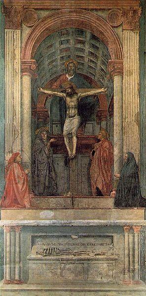 """""""Trinity"""" by Masaccio"""