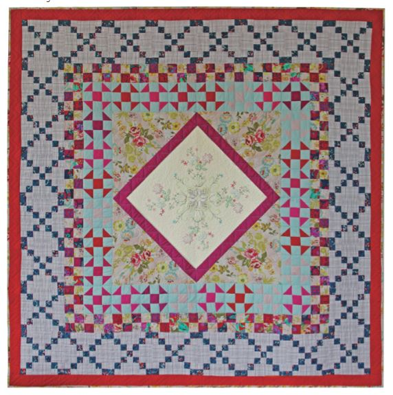 Colorful Medallion Joy Quilt Pattern