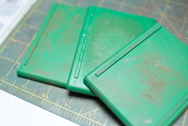 Green Thickness Guides for Jewelry Making
