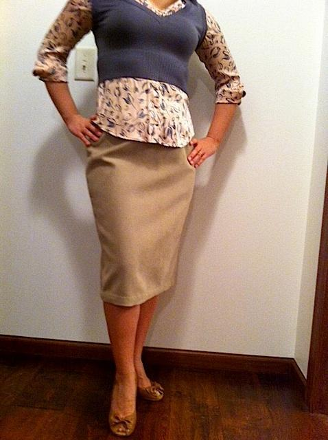 Miss Cara's Naughty Secretary Skirt