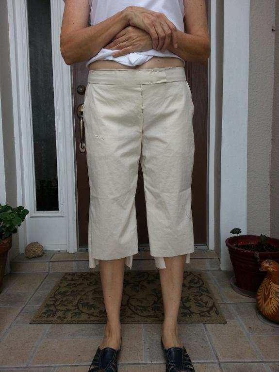 Taking accurate measurements for pants