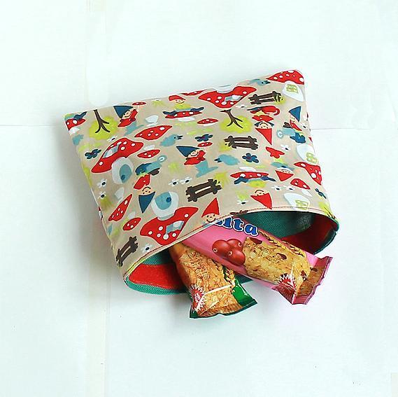 Reusable Snack Bags : Tutorial on Bluprint